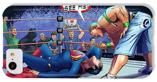 John Cena Vs Superman IPhone 5c Case