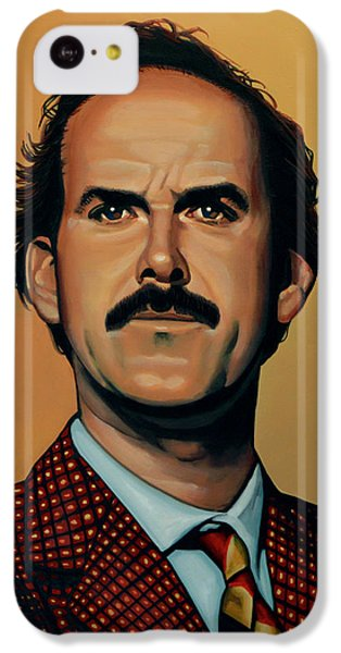 Portraits iPhone 5c Case - John Cleese by Paul Meijering