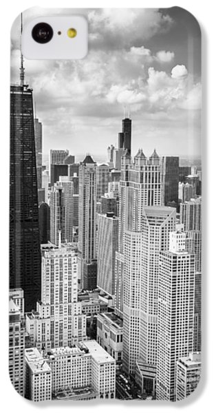 John Hancock Building In The Gold Coast Black And White IPhone 5c Case