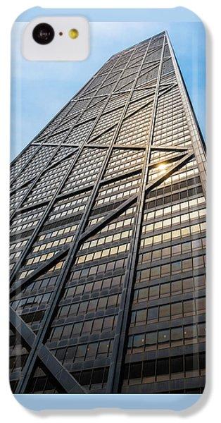 Hancock Building iPhone 5c Case - John Hancock Center Chicago by Steve Gadomski