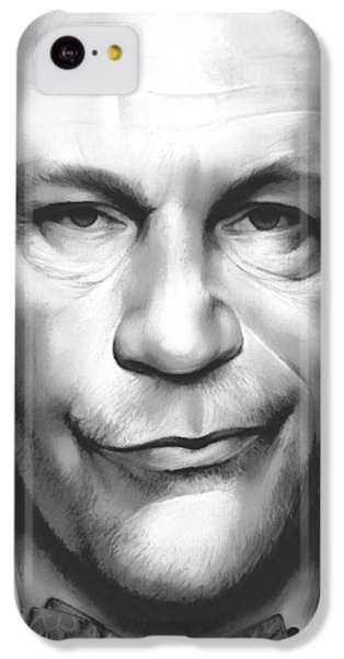 Mouse iPhone 5c Case - John Malkovich by Greg Joens