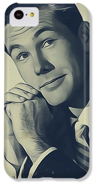 Johnny Carson iPhone 5c Case - Johnny Carson, Vintage Entertainer by John Springfield