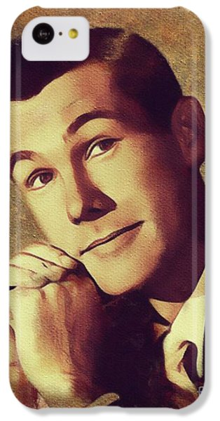 Johnny Carson iPhone 5c Case - Johnny Carson, Vintage Entertainer by Mary Bassett