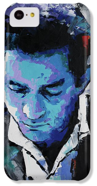 Johnny Cash IPhone 5c Case by Richard Day