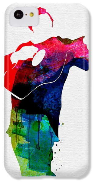 Johnny Watercolor IPhone 5c Case by Naxart Studio
