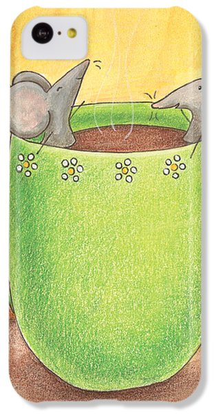 Join Me In A Cup Of Coffee IPhone 5c Case by Christy Beckwith