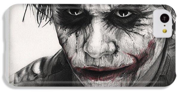 Joker Face IPhone 5c Case by James Holko