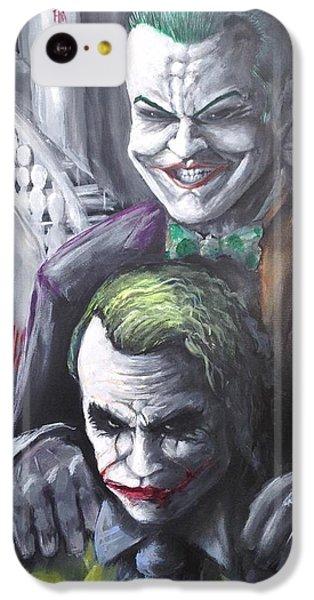 Jokery In Wayne Manor IPhone 5c Case by Tyler Haddox