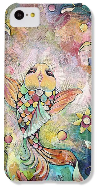 Joyful Koi I IPhone 5c Case by Shadia Derbyshire