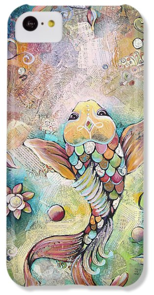 Joyful Koi II IPhone 5c Case by Shadia Derbyshire