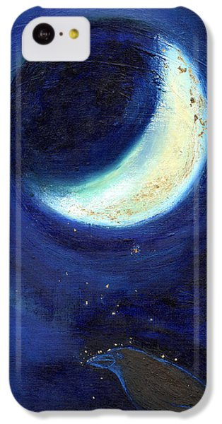 July Moon IPhone 5c Case by Nancy Moniz