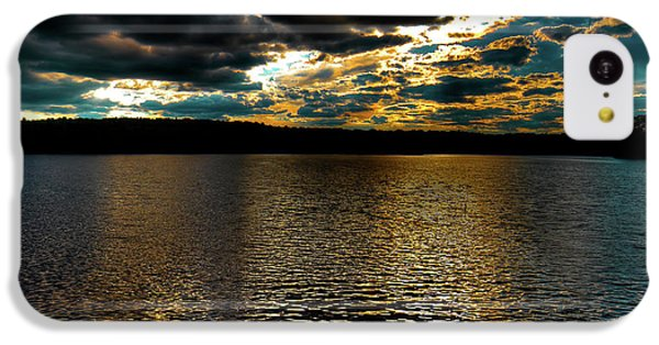 IPhone 5c Case featuring the photograph June Sunset On Nicks Lake by David Patterson