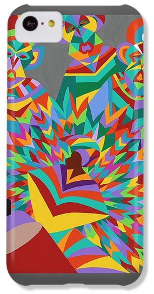iPhone 5c Case - Junkanoo by Synthia SAINT JAMES