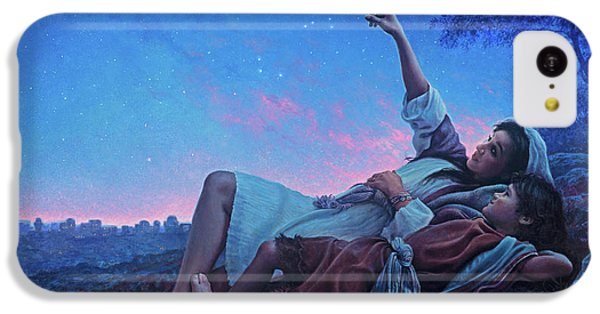 Planets iPhone 5c Case - Just For A Moment by Greg Olsen