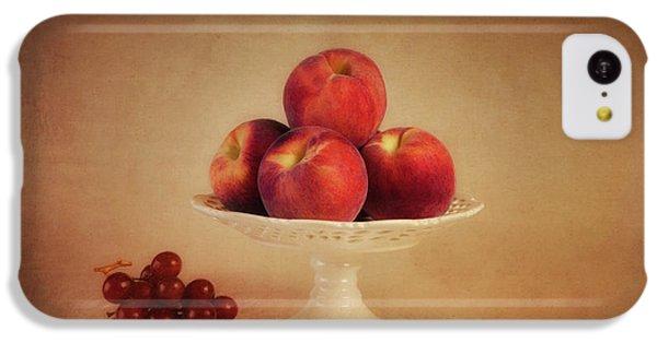 Just Peachy IPhone 5c Case by Tom Mc Nemar