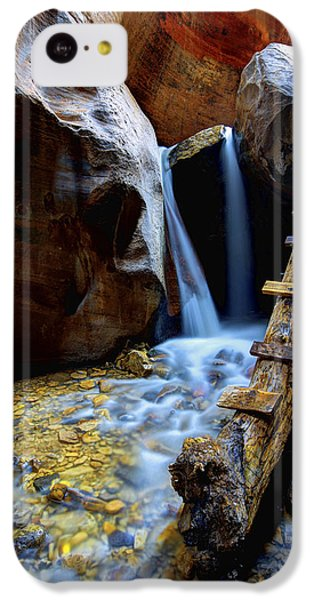 Flow iPhone 5c Case - Kanarra by Chad Dutson