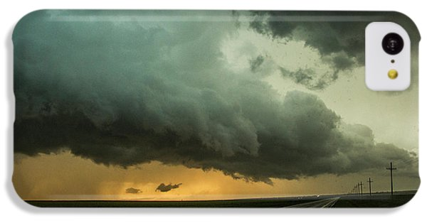 Nebraskasc iPhone 5c Case - Kansas Storm Chase Bust Day 004 by NebraskaSC