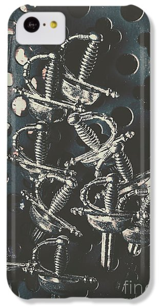 Knight iPhone 5c Case - Keep Of A Royal Armoury by Jorgo Photography - Wall Art Gallery