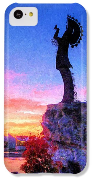 Keeper Of The Plains IPhone 5c Case by JC Findley