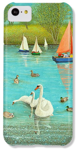 Keeping A Watchful Eye IPhone 5c Case by Pat Scott