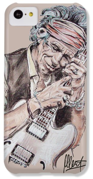 Keith Richards IPhone 5c Case