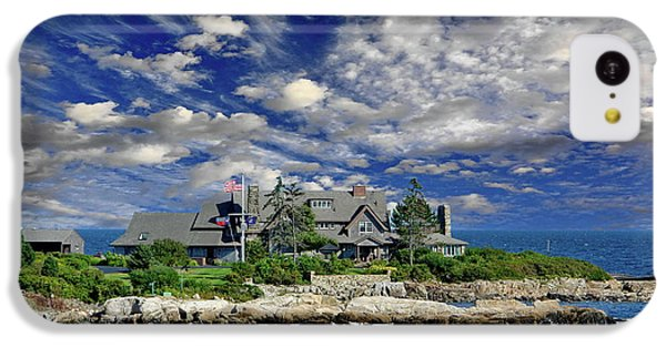 Kennebunkport, Maine - Walker's Point IPhone 5c Case by Russ Harris
