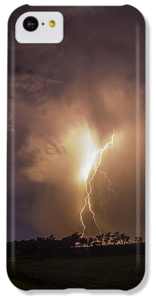 Nebraskasc iPhone 5c Case - Kewl Nebraska Cg Lightning And Krawlers 014 by NebraskaSC