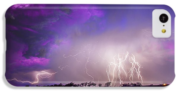 Nebraskasc iPhone 5c Case - Kewl Nebraska Cg Lightning And Krawlers 038 by NebraskaSC