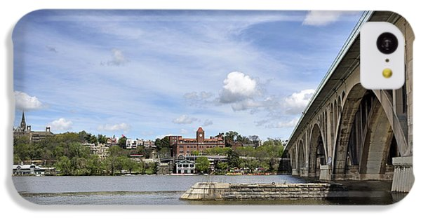 Key Bridge Into Georgetown IPhone 5c Case by Brendan Reals