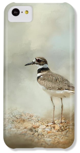 Killdeer iPhone 5c Case - Killdeer On The Rocks by Jai Johnson
