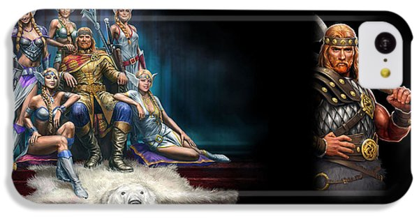 Design iPhone 5c Case - King's Bounty Warriors Of The North by Maye Loeser