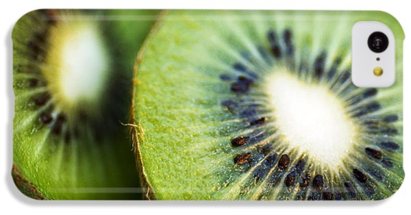Kiwi Fruit Halves IPhone 5c Case by Ray Laskowitz - Printscapes