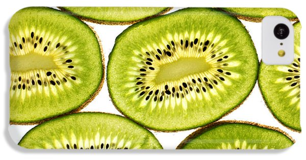 Kiwi Fruit II IPhone 5c Case by Paul Ge