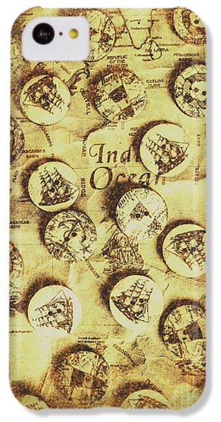 Navigation iPhone 5c Case - Knots And Buttons by Jorgo Photography - Wall Art Gallery
