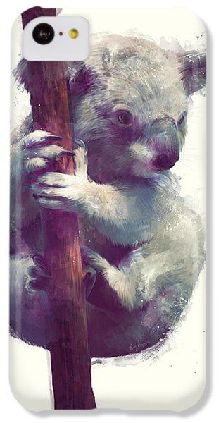Koala IPhone 5c Case by Amy Hamilton