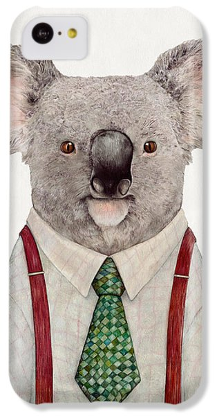 Portraits iPhone 5c Case - Koala by Animal Crew