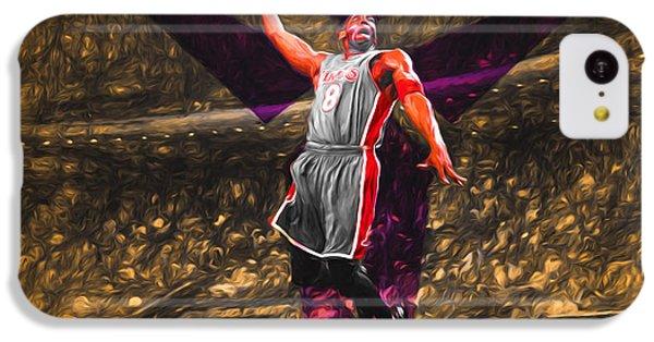 Kobe Bryant Black Mamba Digital Painting IPhone 5c Case