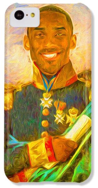Kobe Bryant Floor General Digital Painting La Lakers IPhone 5c Case