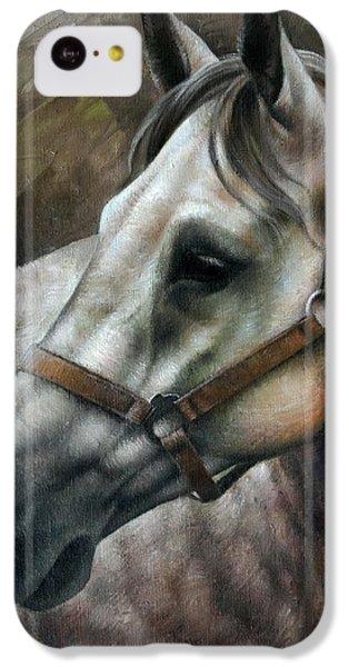 Horse iPhone 5c Case - Kogarashi by Arthur Braginsky