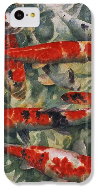 Koi Karp IPhone 5c Case by Gareth Lloyd Ball