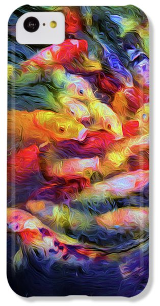 Koi Pond IPhone 5c Case by Jon Woodhams