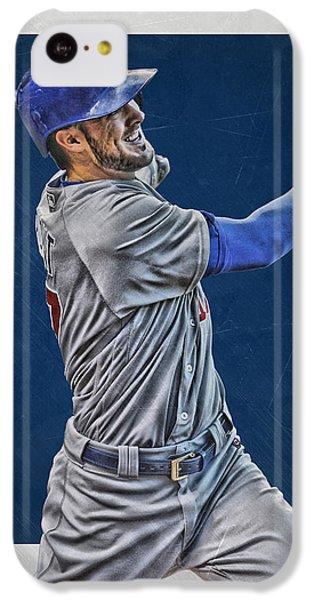 Kris Bryant Chicago Cubs Art 3 IPhone 5c Case by Joe Hamilton
