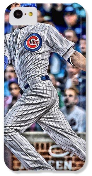 Kris Bryant Chicago Cubs IPhone 5c Case by Joe Hamilton