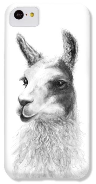 Llama iPhone 5c Case - Krista by K Llamas