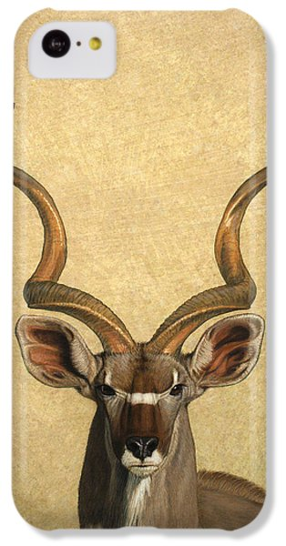 Animals iPhone 5c Case - Kudu by James W Johnson