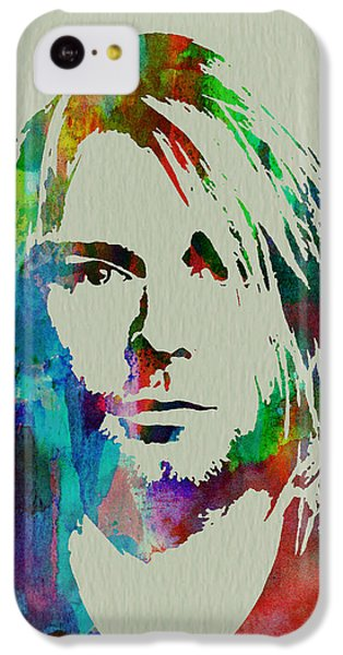 Kurt Cobain Nirvana IPhone 5c Case by Naxart Studio