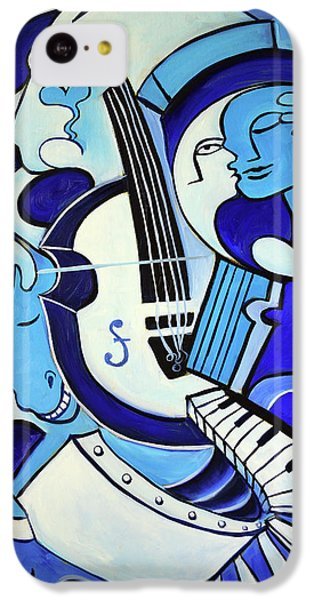 Abstract iPhone 5c Case - L Amour Ou Quoi 2 by Valerie Vescovi