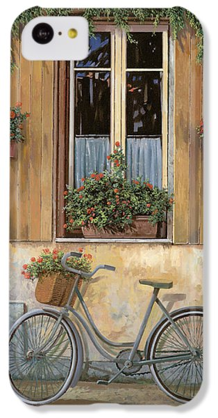 Bicycle iPhone 5c Case - La Bici by Guido Borelli