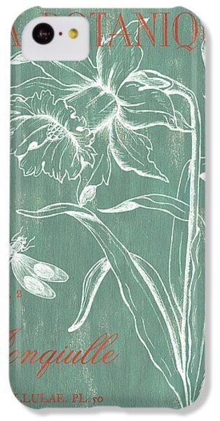 Dragon iPhone 5c Case - La Botanique Aqua by Debbie DeWitt