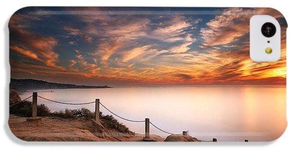 Reef Shark iPhone 5c Case - La Jolla Sunset by Larry Marshall